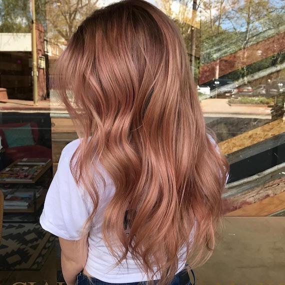 tóc màu nâu sữa 6