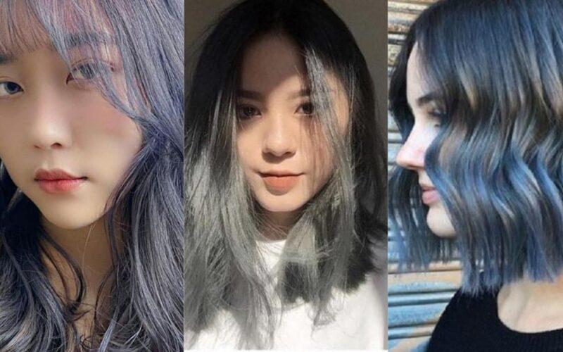 tóc màu than chì 12