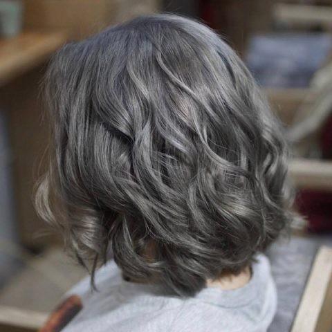 tóc màu than chì 15