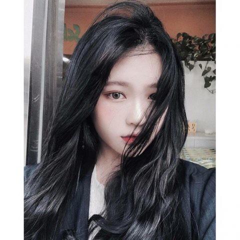 tóc màu than chì 17