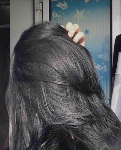 tóc màu than chì 18