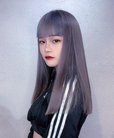 tóc màu than chì 19