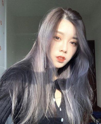 tóc màu than chì 20