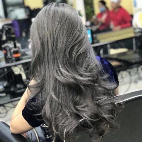tóc màu than chì 21