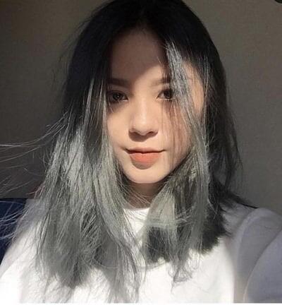 tóc màu than chì 6