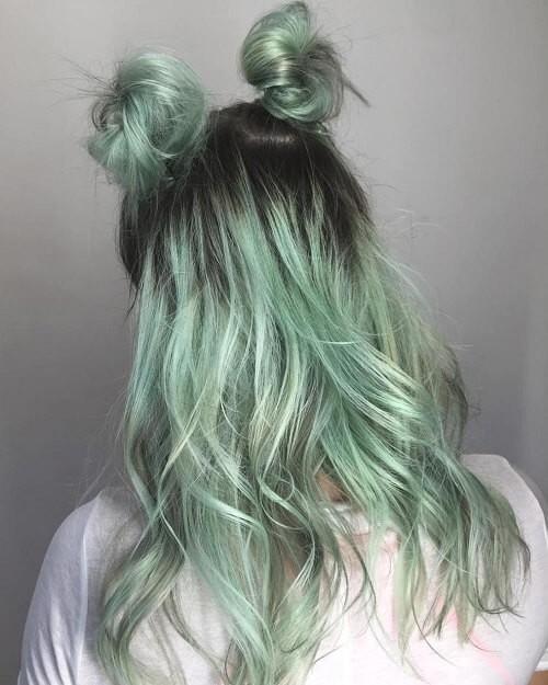 tóc màu xanh rêu_47