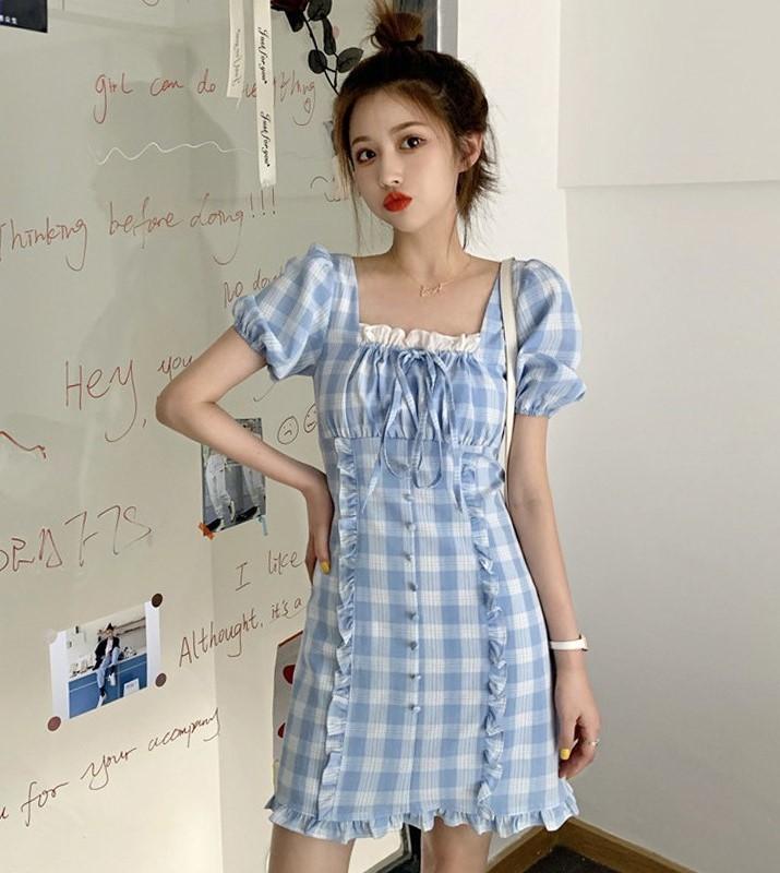 trang phục màu xanh biển _11