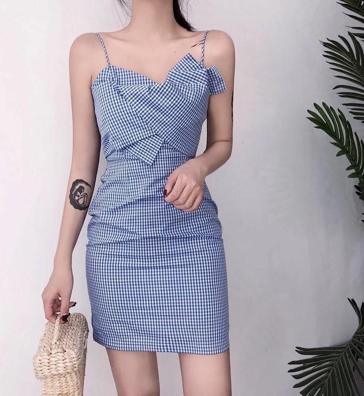 trang phục màu xanh biển _16