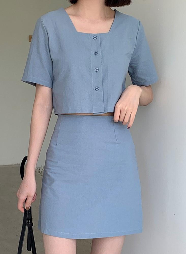 trang phục màu xanh biển _2