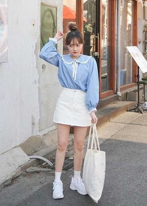 trang phục màu xanh biển _27