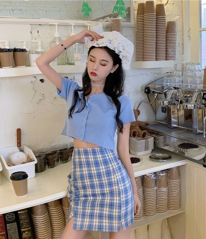 trang phục màu xanh biển _33