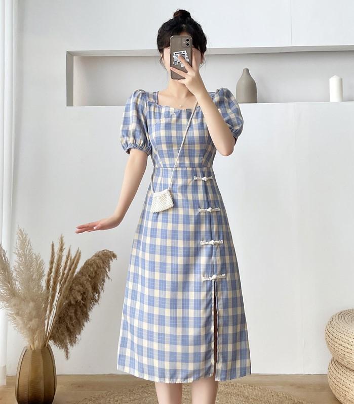 trang phục màu xanh biển _38