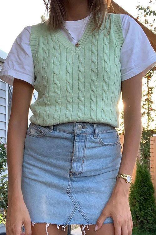 trang phục xanh mint 9
