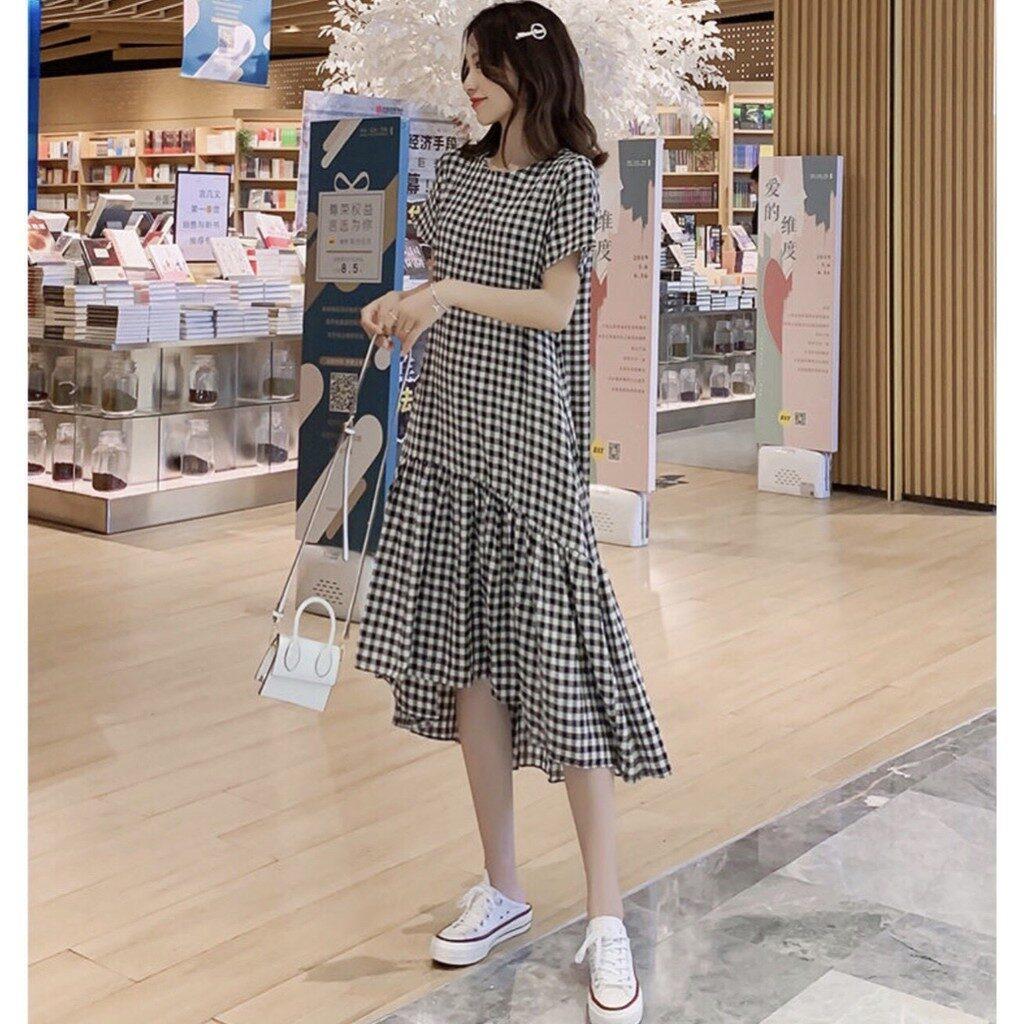 Phối đồ với váy suông (1)