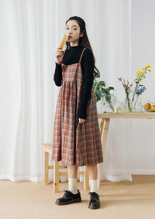 Phối đồ với váy suông (4)