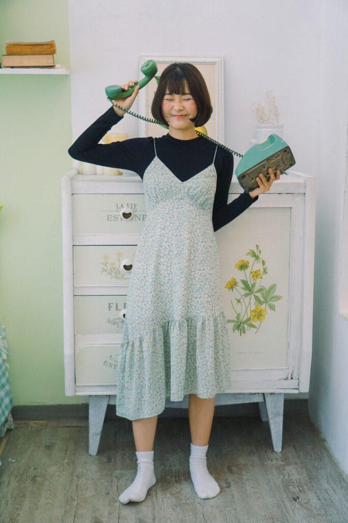 Phối đồ với váy suông (5)