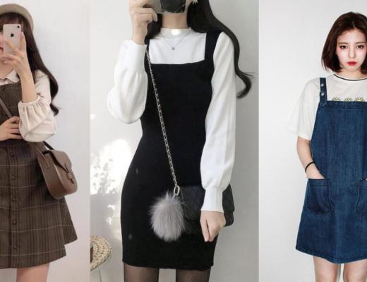 váy yếm cho tuổi teen