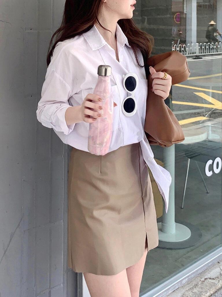 Thời trang màu trắng kem (1)
