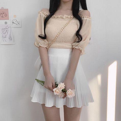 Thời trang màu trắng kem (17)