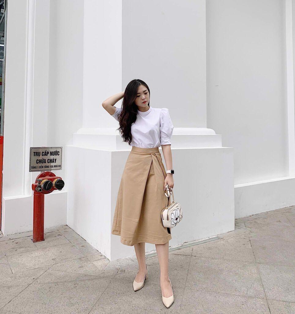 Thời trang màu trắng kem (26)