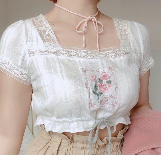 các loại áo trắng kiểu 8
