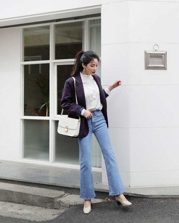 Cách phối blazer phong cách cho nàng xuống phố (1)