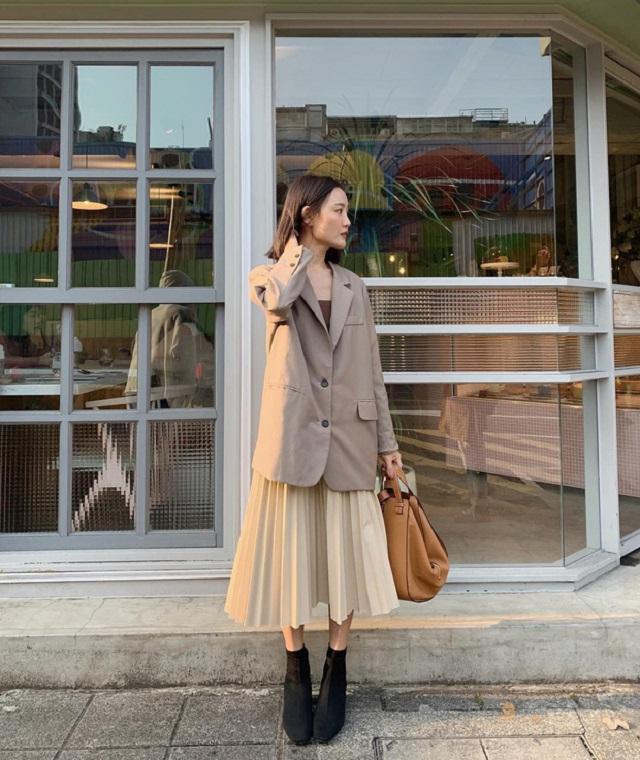 Cách phối blazer phong cách cho nàng xuống phố (12)