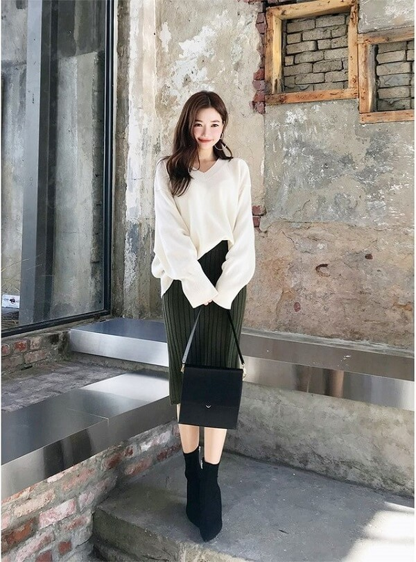 Cách phối đồ với áo len 2 (3)