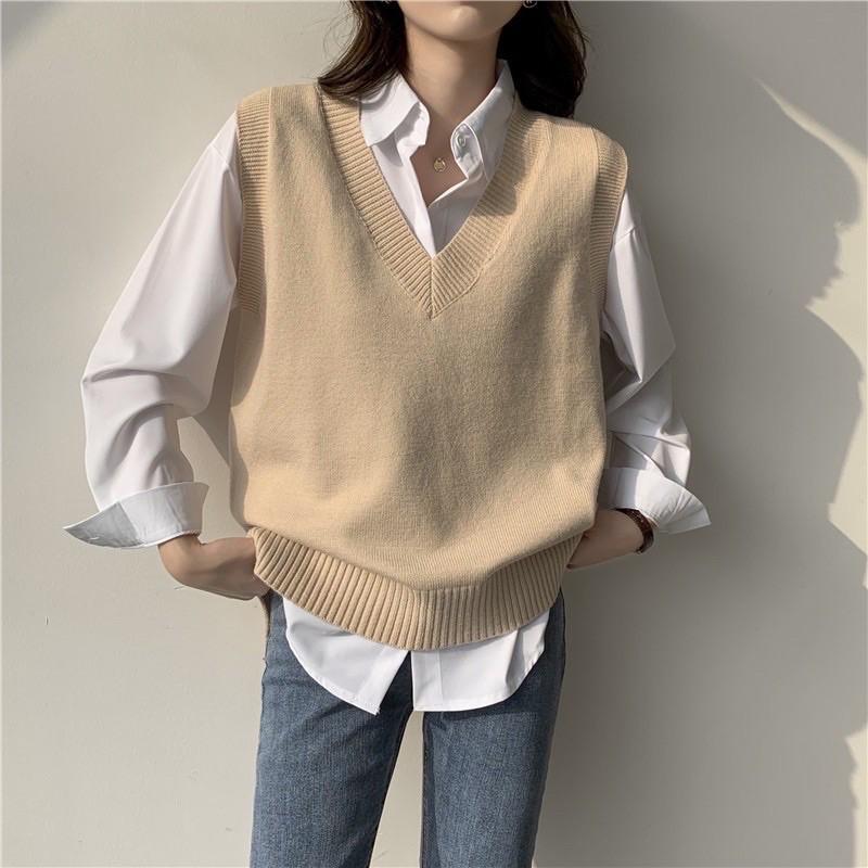 Cách phối đồ với áo len (2)