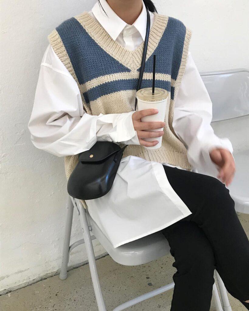 Cách phối đồ với áo len (8)
