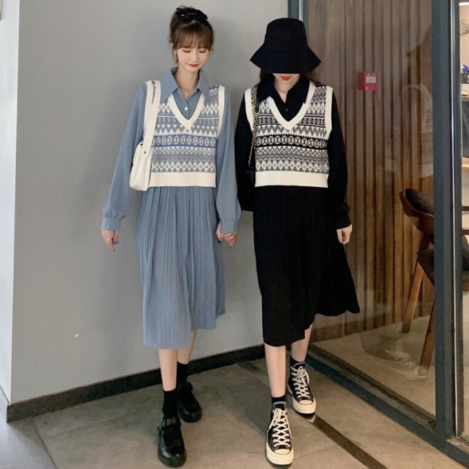 Cách phối đồ với áo len (9)