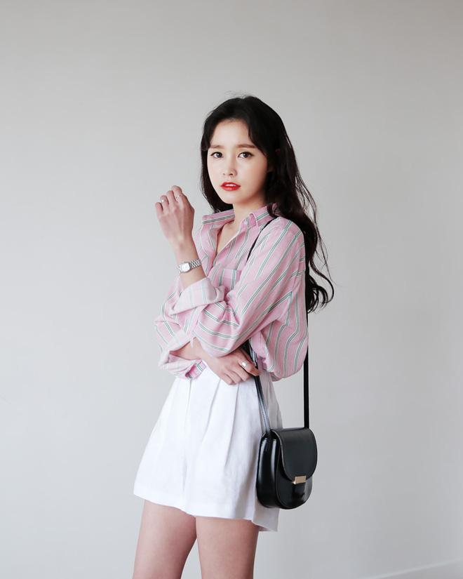 Cách phối đồ với trang phục màu hồng (19)