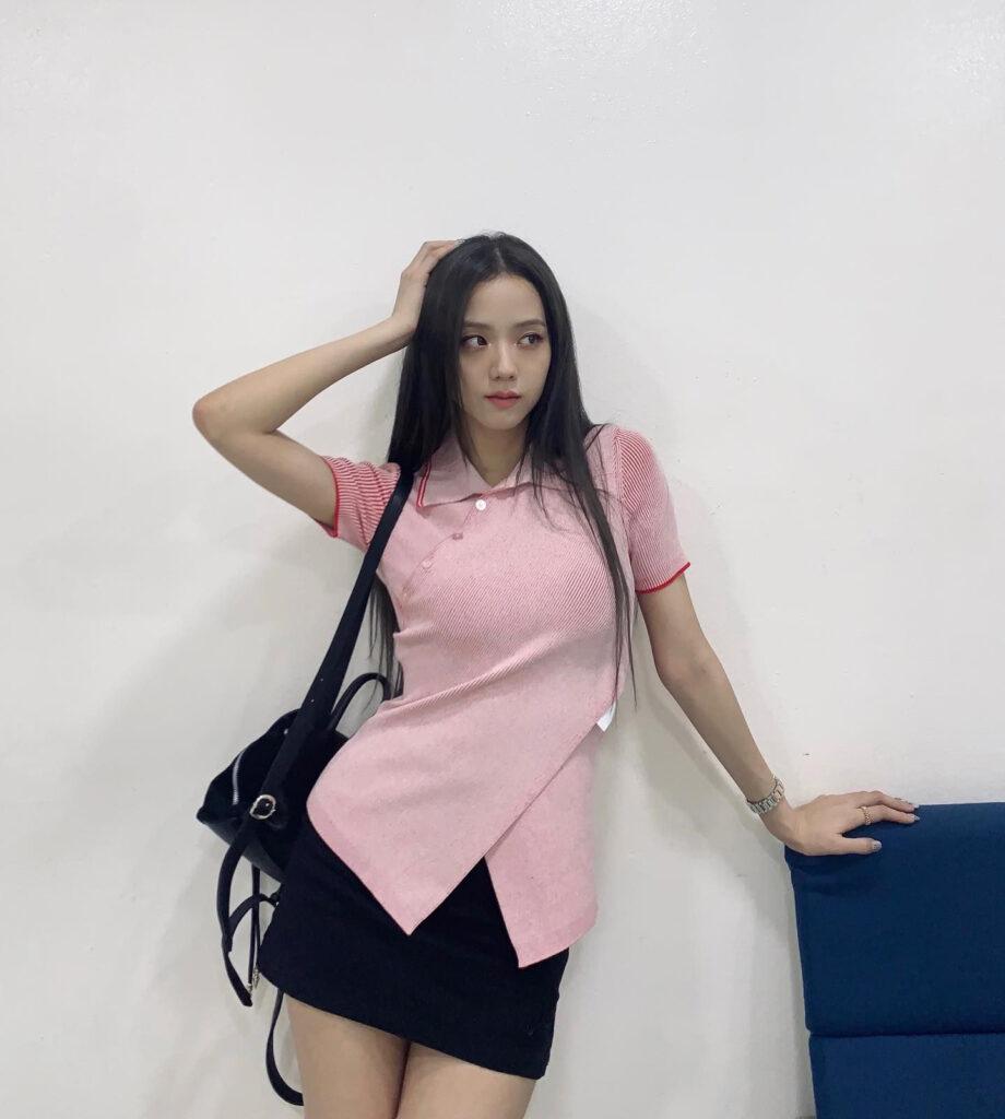 Cách phối đồ với trang phục màu hồng (2)