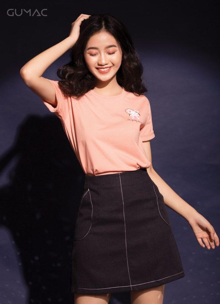 Cách phối đồ với trang phục màu hồng (27)