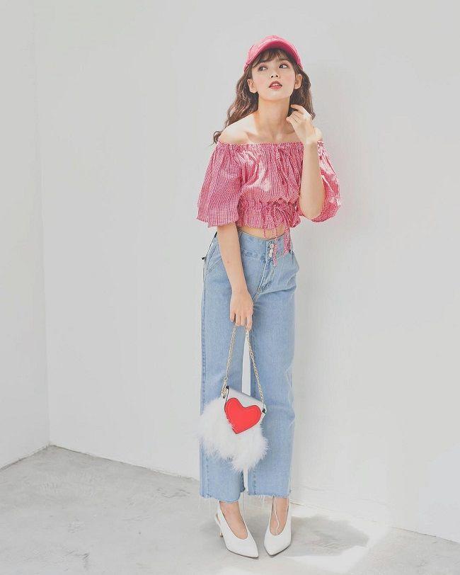 Cách phối đồ với trang phục màu hồng 3