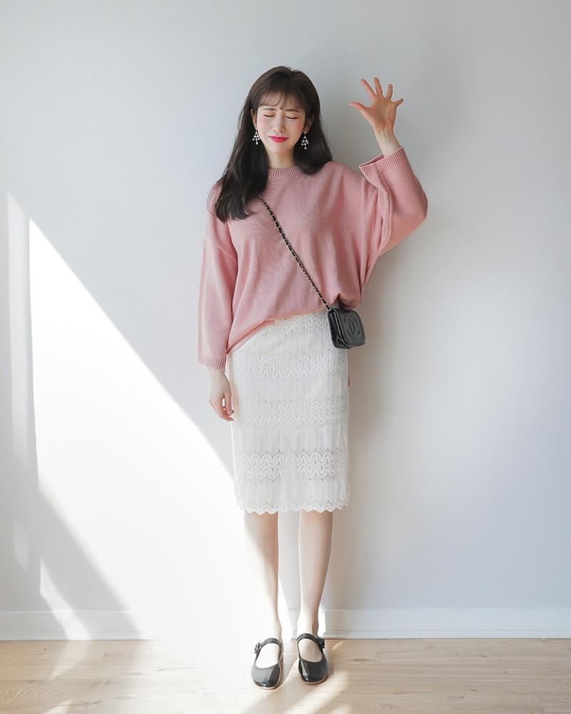 Cách phối đồ với trang phục màu hồng (4)