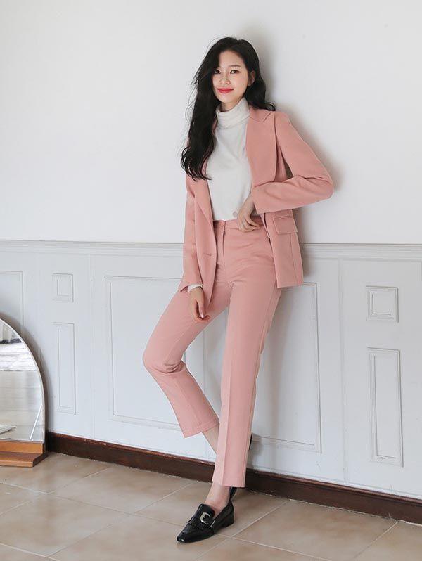 Cách phối đồ với trang phục màu hồng (7)