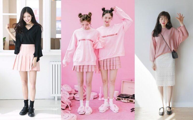 List 19+ cách phối đồ với trang phục màu hồng