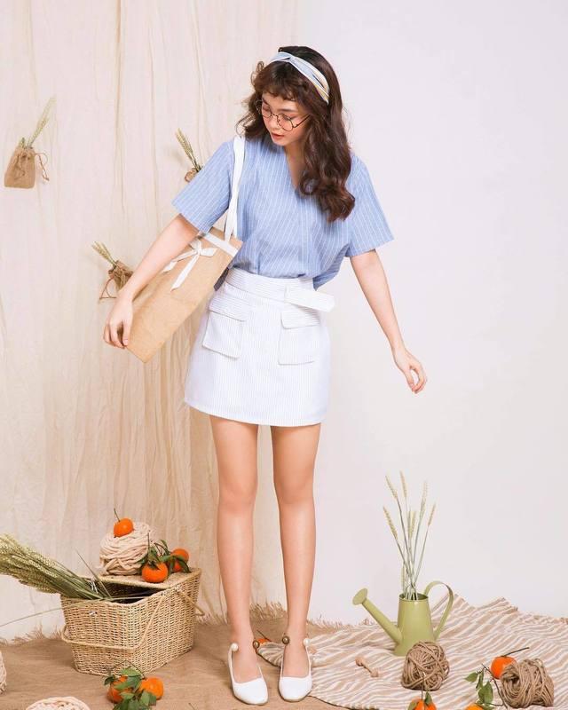 Mix đồ với trang phục màu nhẹ nhàng 1 (3)