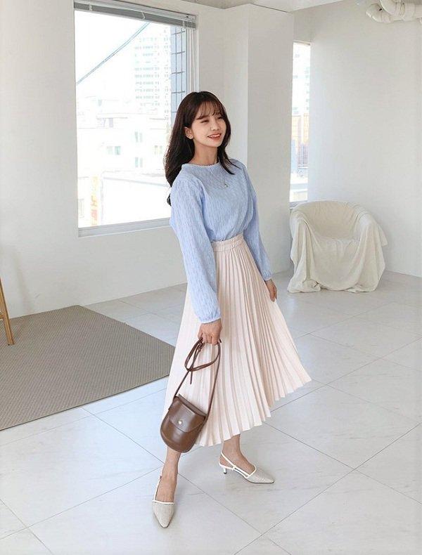 Mix đồ với trang phục màu nhẹ nhàng 1 (5)
