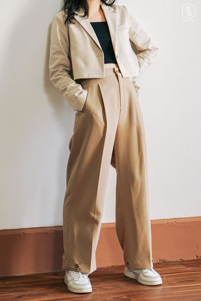 Mix đồ với trang phục màu nhẹ nhàng (10)