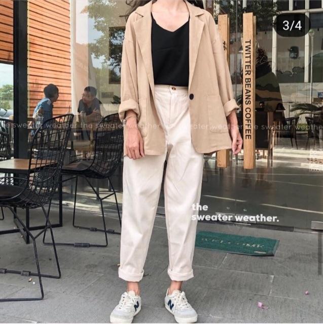 Mix đồ với trang phục màu nhẹ nhàng (5)