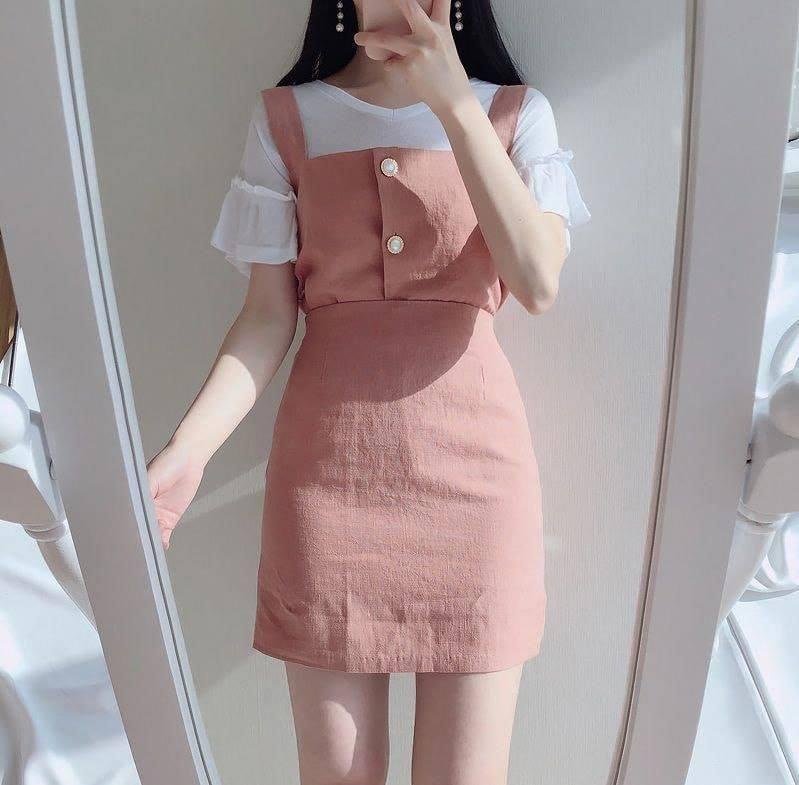 Mix đồ với trang phục màu nhẹ nhàng (9)