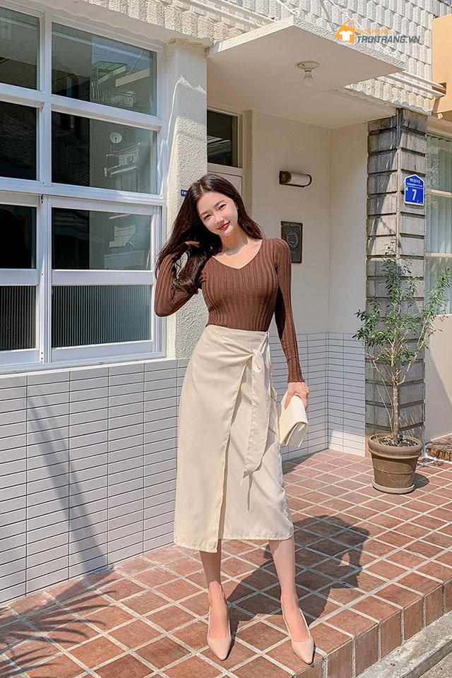 Phong cách thời trang Hàn Quốc 1